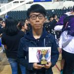 楊嘉洋同學獲得卓越得分球員獎