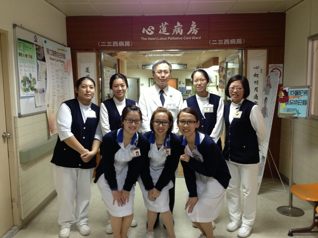 College students having clinical study at Buddhist Tzu Chi General Hospital