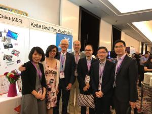 2017年11月赴印尼參加國際失智症協會亞太地區會議及研討會