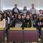 九龍塘中學師生來訪