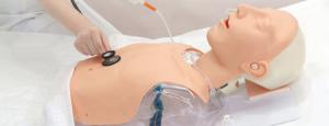 透明插胃管模型