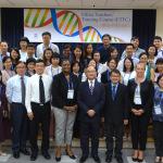 鏡湖領導及聯合國教科文組織的成員出席課程開幕式
