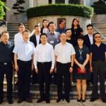 四川省人民政府與學院代表合影