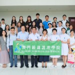 KWNC delegation takes a group photo with the representatives of Shenzhen University General Hospital