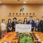 廣東慈善會向學院捐贈口罩