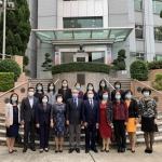 北京大學、國家衛健委、澳門高教局及衛生局來賓與鏡湖代表合影