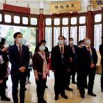 湖南科教代表團參觀鏡湖歷史紀念館