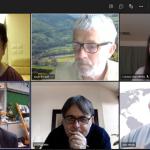 評審專家與PDAN課程相關人員進行線上會議